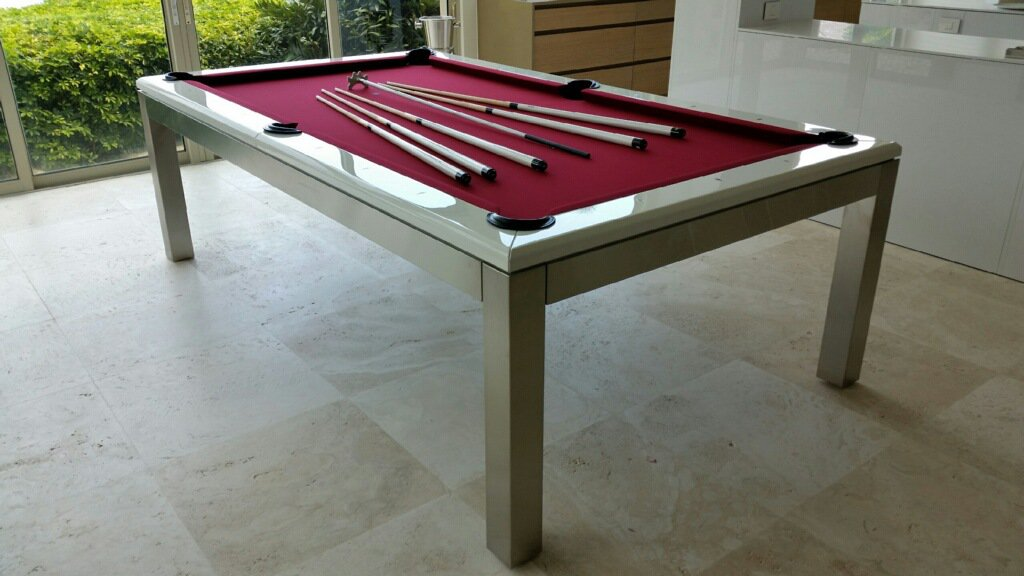 La Condo Stainless Steel Pool Table