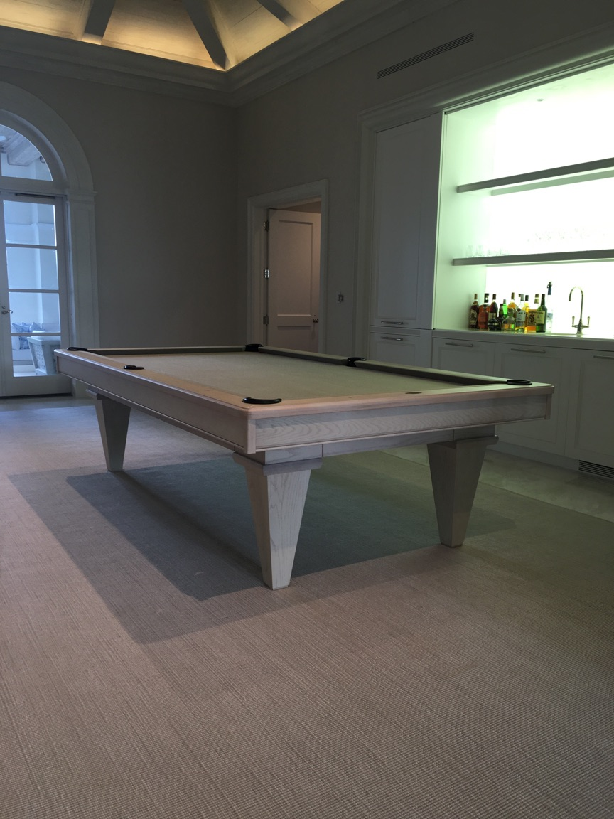 8ft Transitional Pool Table