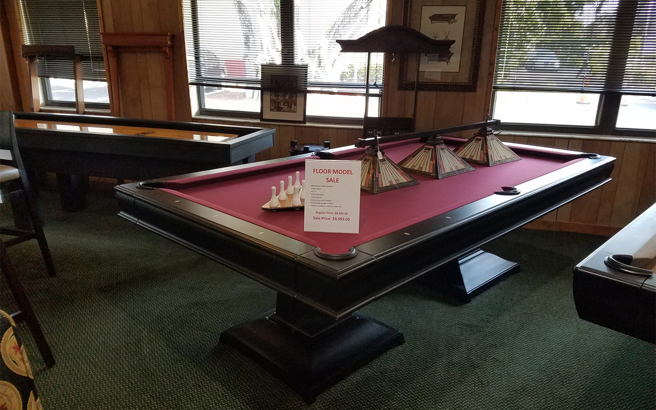 Previously Enjoyed Pool Tables
